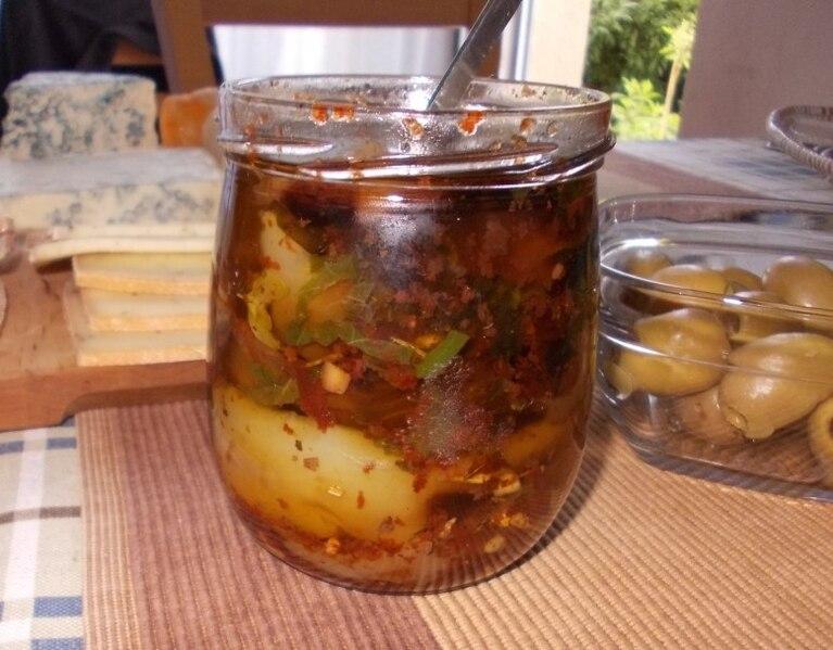Grillowana papryka z ziołami w aromatycznej zalewie - oliwie z Tunezji