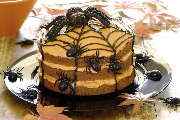 Tort Pająk na Halloween