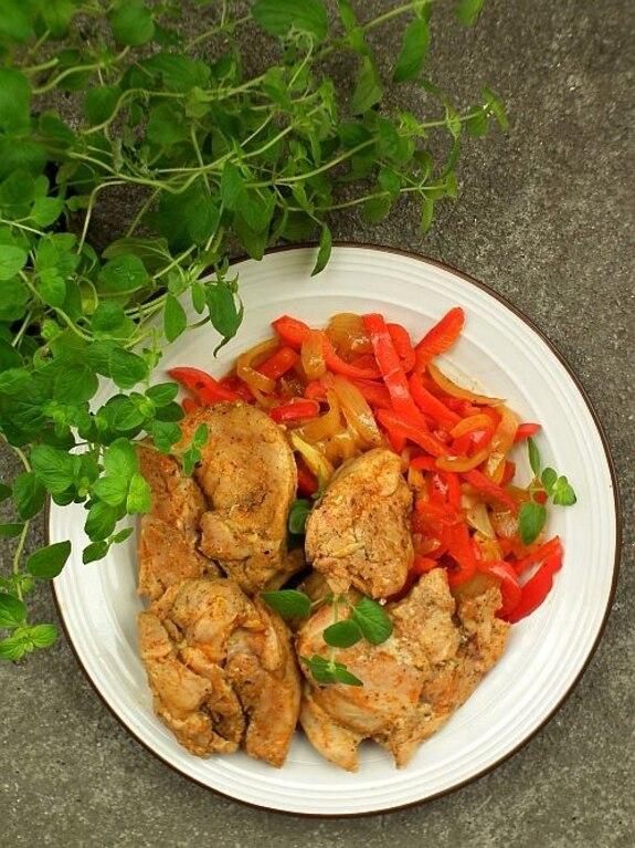 Hiszpański kurczak ziołowy