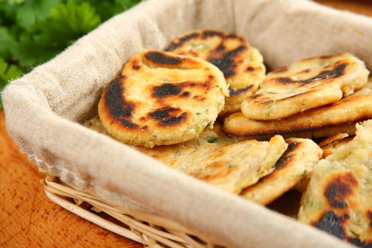 Indyjski płaski chleb – parathas