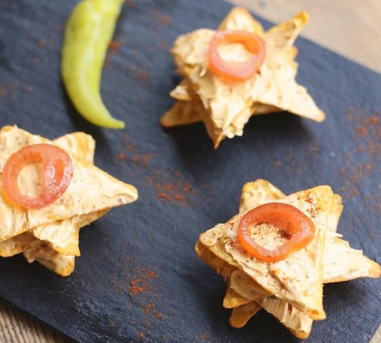 Kanapeczki z nachosów