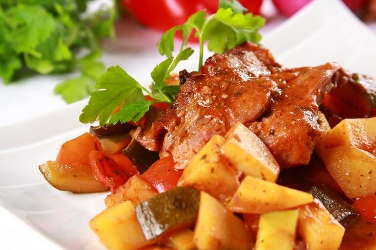 Karkówka z ziemniakami