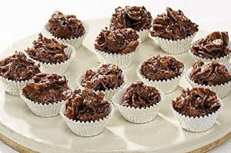 Karmelowo-czekoladowe słodkie kulki