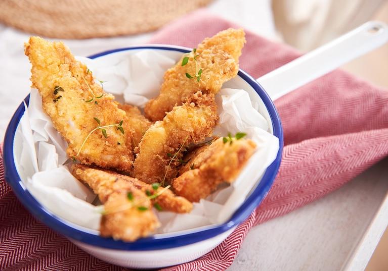 Kąski kurczaka w aromatycznej panierce