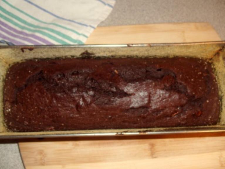 Keks czekoladowo - bananowy