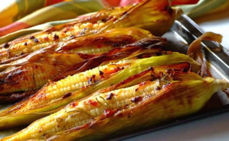 Kukurydza w kolbie
