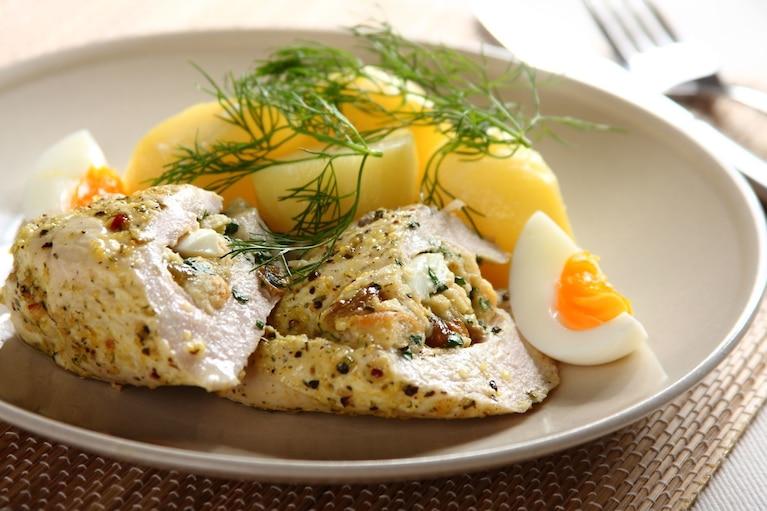 Kurczak à la polonaise