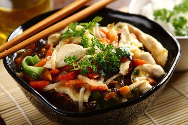 Kurczak Po Chinsku Z Mrozonymi Warzywami Przepis Zobacz Na Przepisy Pl