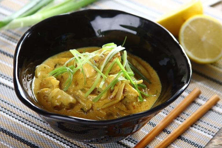 Kurczak w sosie cytrynowym z nutą curry