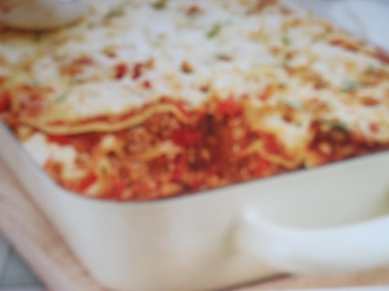 Lasagne z wołowiną i ricotto