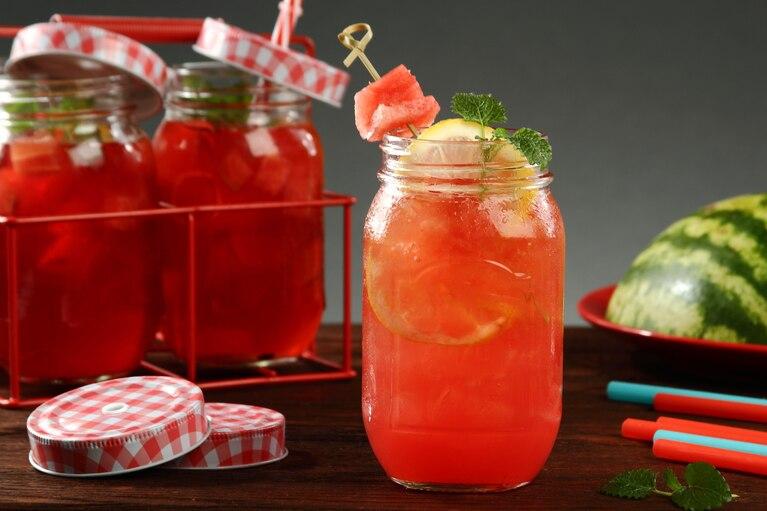 Mrożona herbata – arbuzowe orzeźwienie