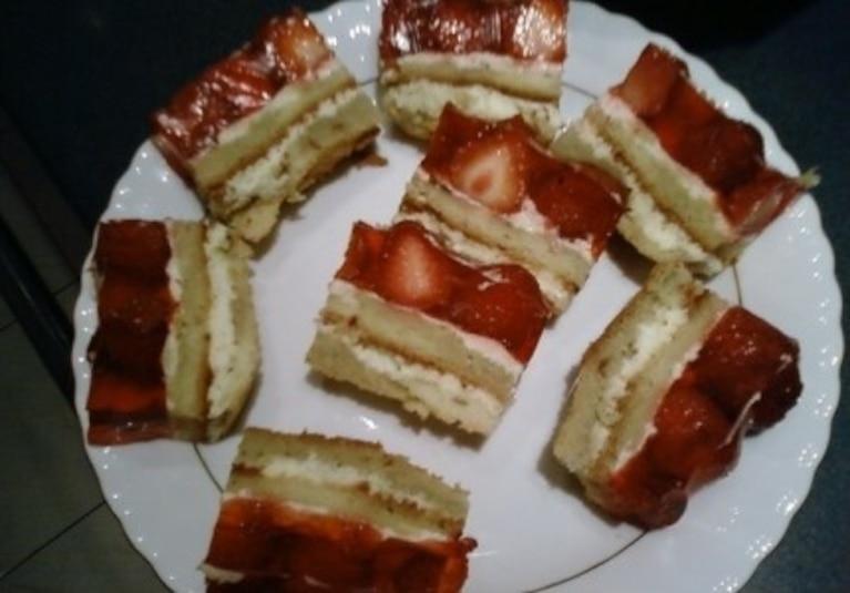 Letnie ciasto z owocami