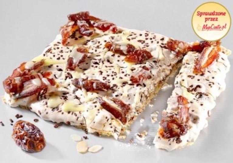 Mazurek daktylowo-czekoladowy