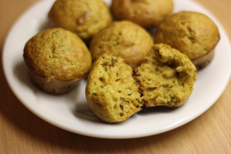 Muffinki z cukinią i marchwią
