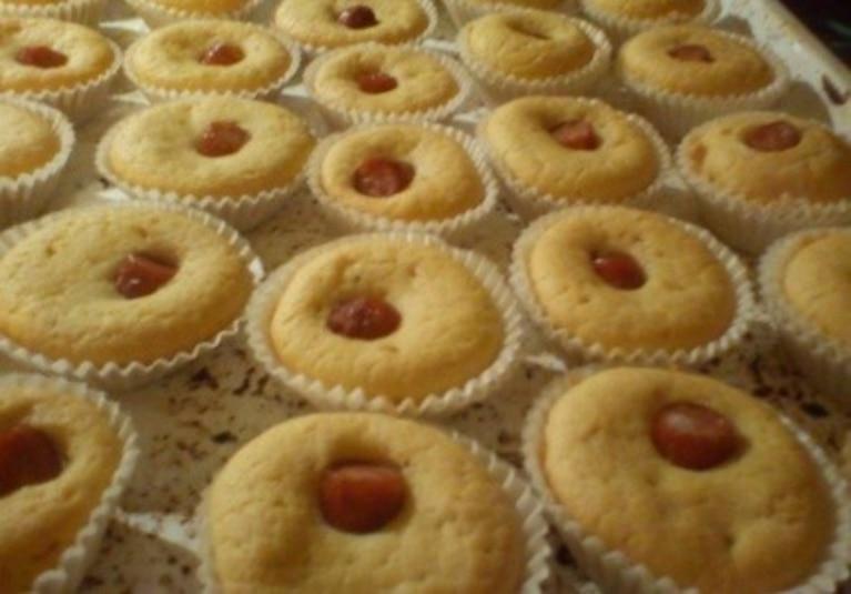 Muffinkowe corn dogi