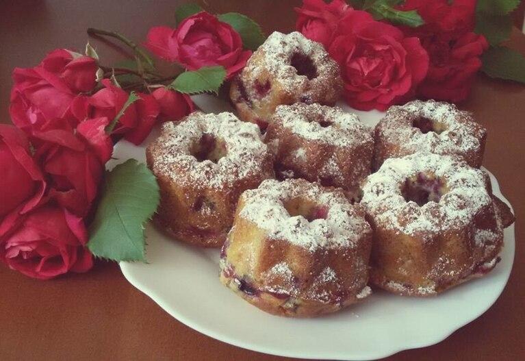 Muffinki z dynią i żurawina z nutką kardamonu