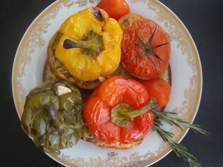 Nadziane warzywa