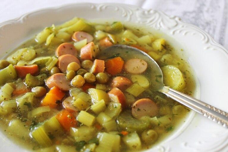 Niemiecka zupa groszkowa