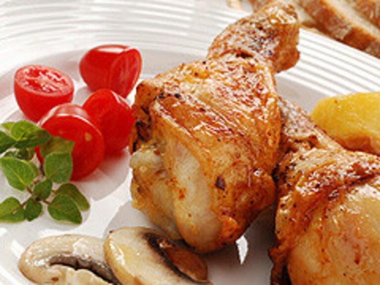 Ogniste pałeczki z kurczaka