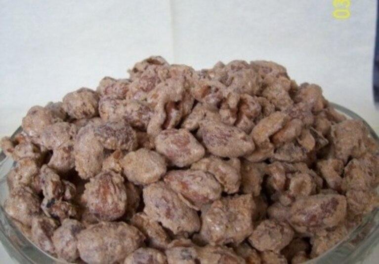 Orzechy pieczone z cynamonem