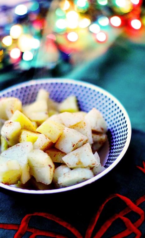 Pieczone ziemniaki z korzenną nutą