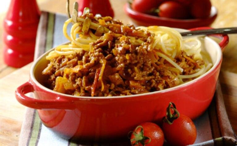 Pikantne spaghetti z meksykańską nutą