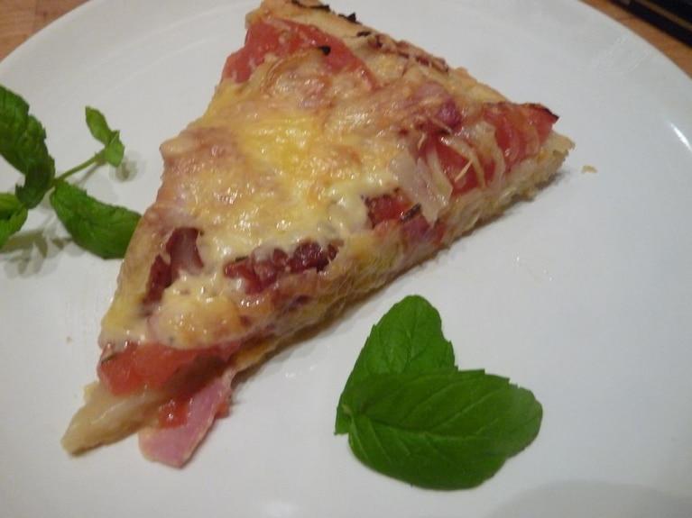 Pizza z chorizo