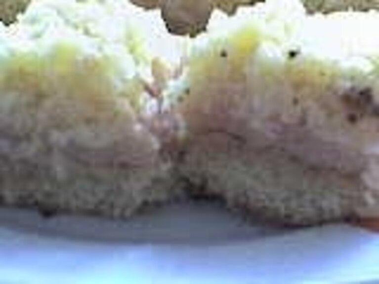 Placek jabłkowo - kokosowy