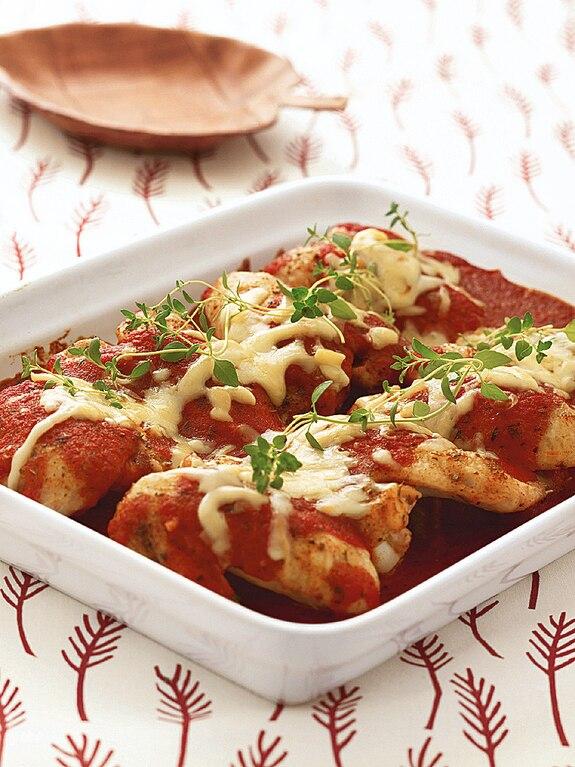 Skrzydełka pomidorowe