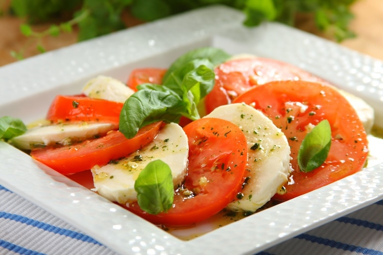 Pomidory z mozzarellą