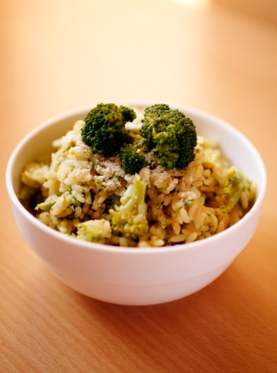 Risotto z brokułem
