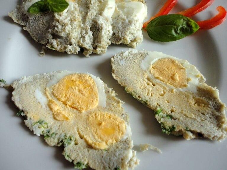 Rolada z jajek