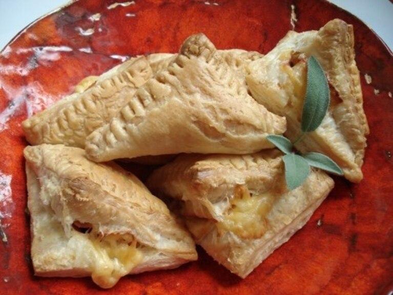 Rożki francuskie z szynką i serem