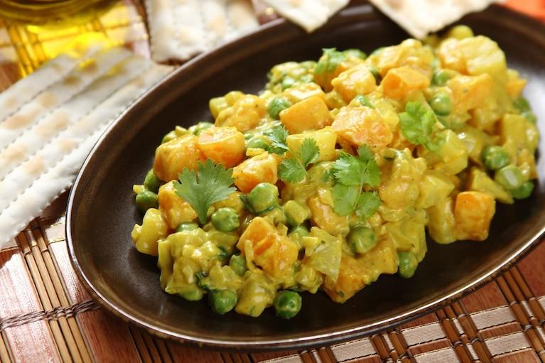 Sałatka z dynią w curry