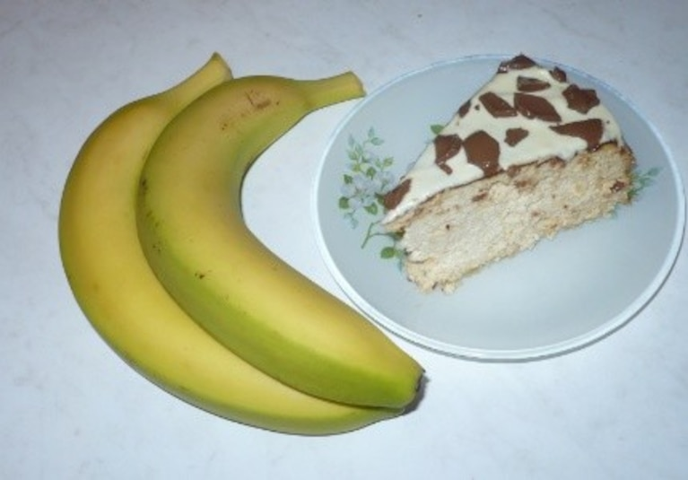 Sernik z Bananami