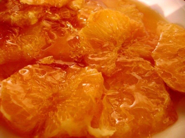 Skarmelizowane pomarańcze
