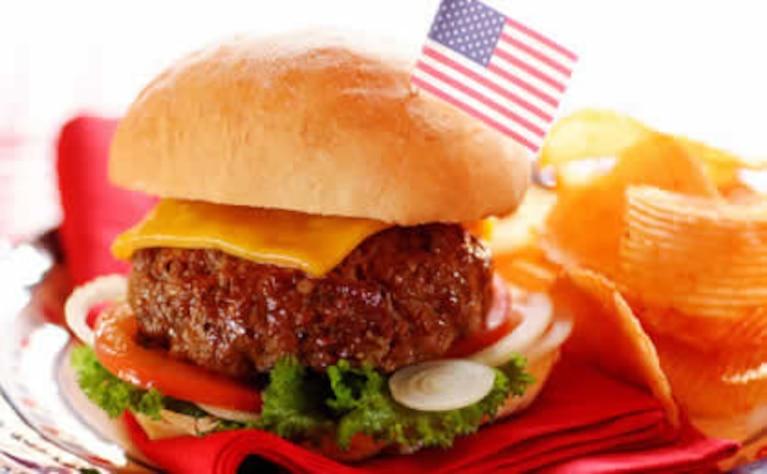 Soczyste amerykańskie burgery