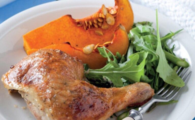 Soczysty kurczak z ziołami