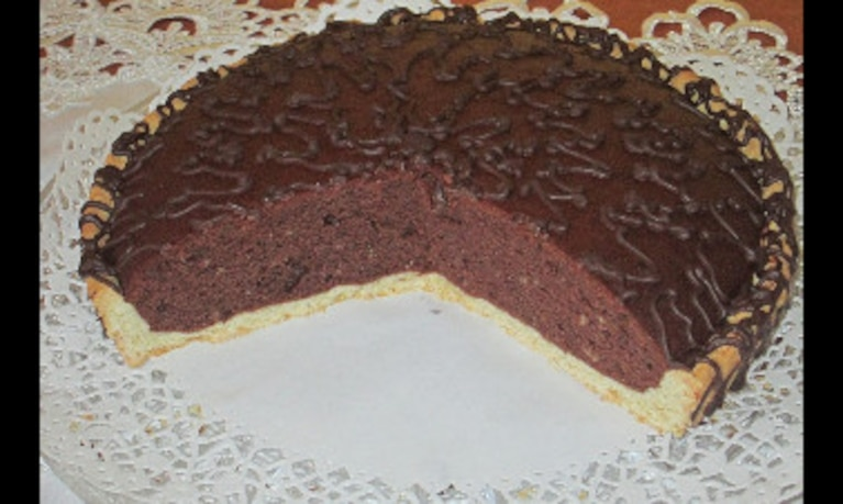 Tarta marcepanowa