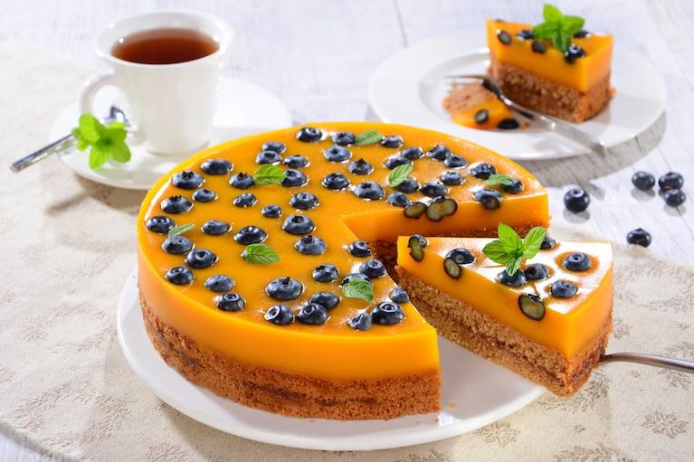 Bezglutenowy torcik mango