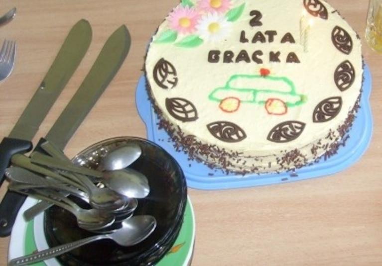 Torcik urodzinowy dla dzieci