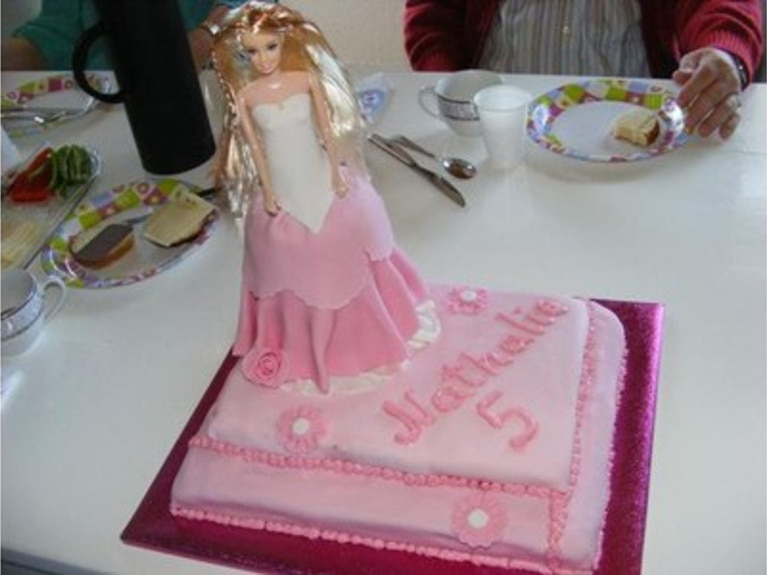 Tort Barbie (albo Princessa)