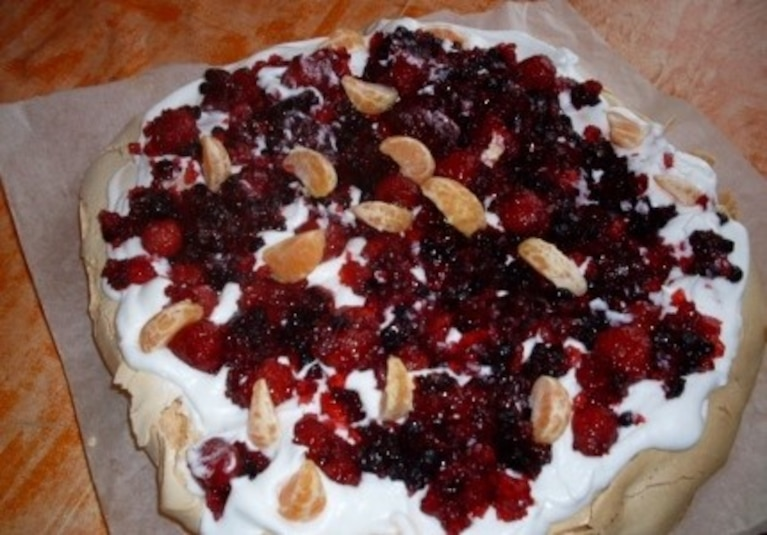 Tort bezowy zwany Powlova