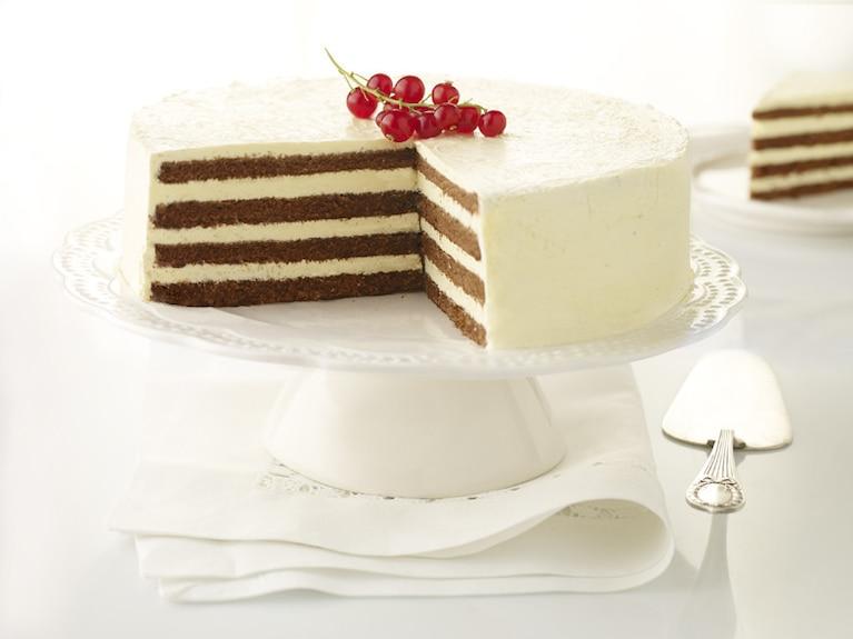 Tort odwrócony czarno-biały
