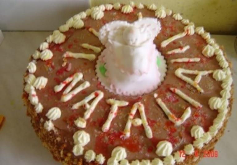 Tort orzechowy - szybki
