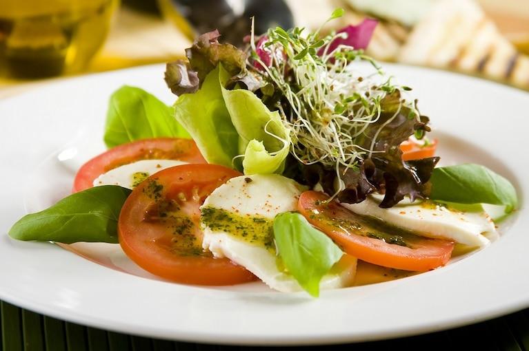 Włoska sałatka z pomidorów