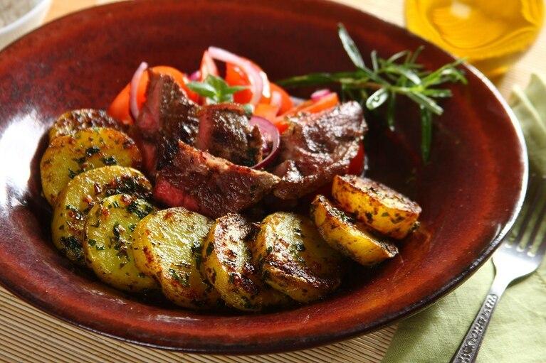 Ziemniaki w panierce curry