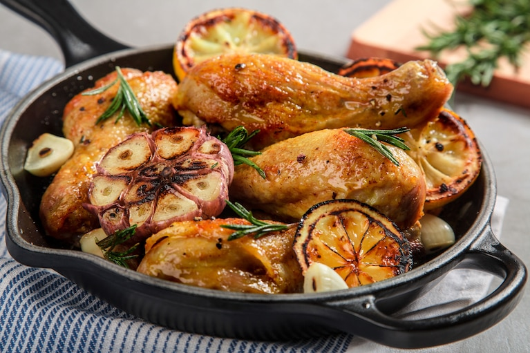 Pałki z kurczaka z cytryną i rozmarynem