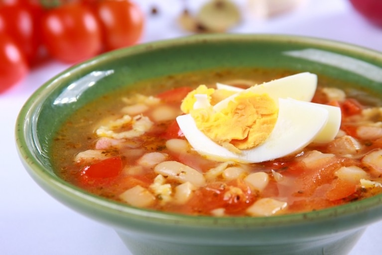 Zupa fasolowo – pomidorowa