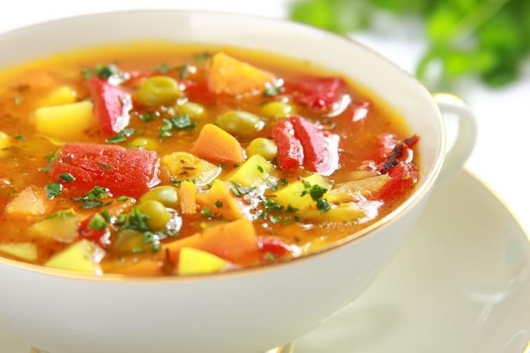Zupa jarzynowa z papryką